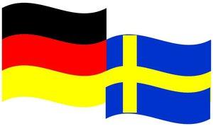 Schwedisch Flagge